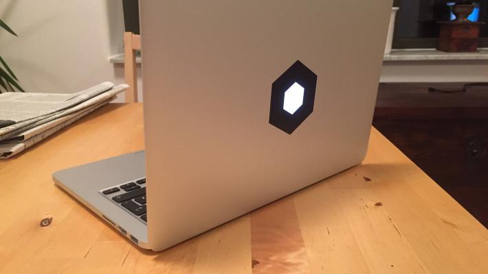 Hexagonale Architektur Laptop